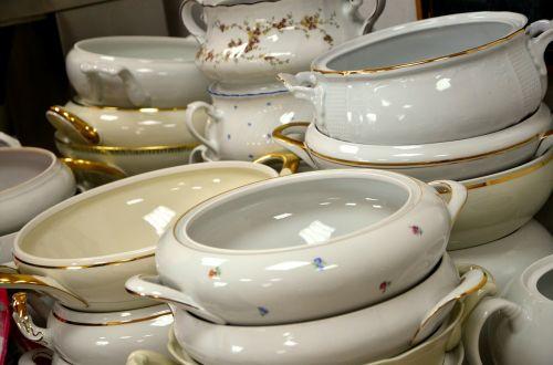 gold trim dinnerware tureens tureen