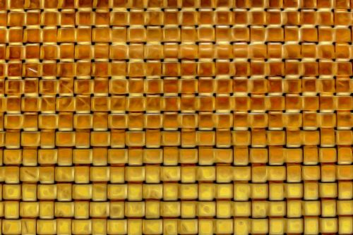 Gold Weave Background