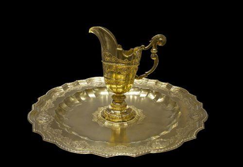 golden platter maria theresia