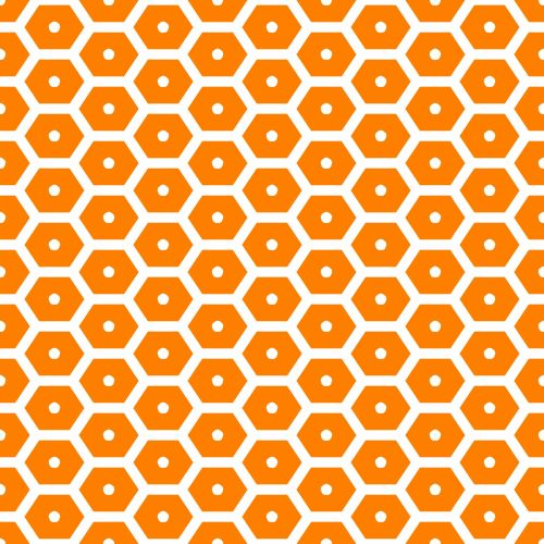 Golden Be Hive Pattern