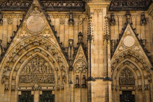 golden city prague st vitus cathedral