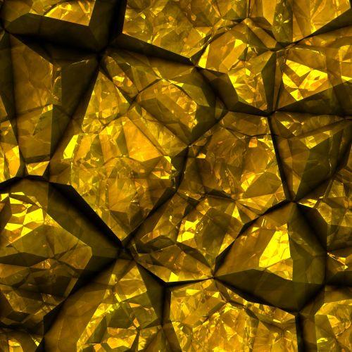 Golden Crystals