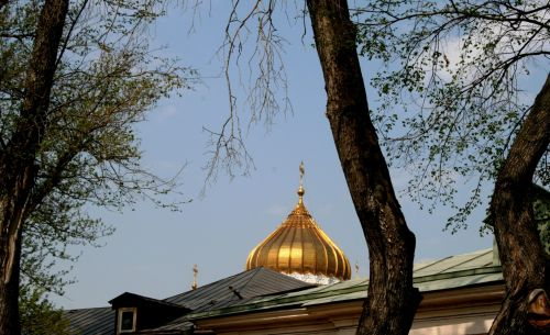Golden Dome Of Cathedral