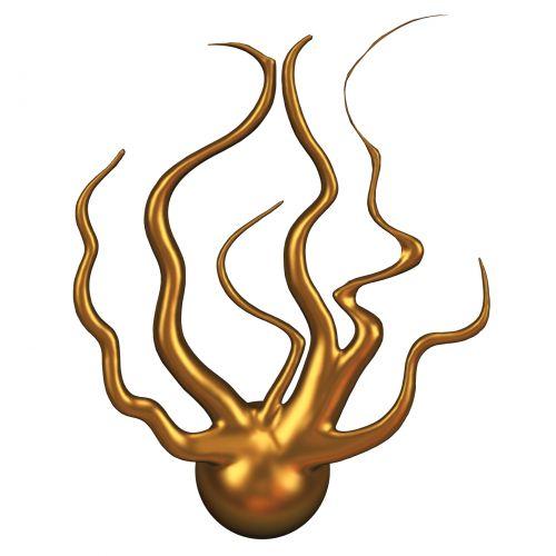 Golden Fireball