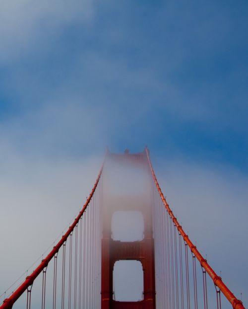 golden gate bridge bridge sky
