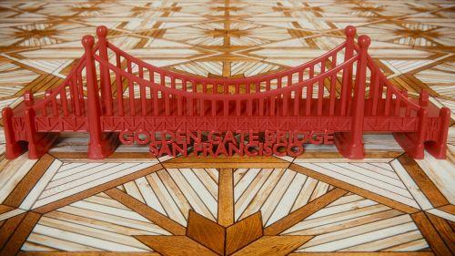 golden gate bridge blender 3d