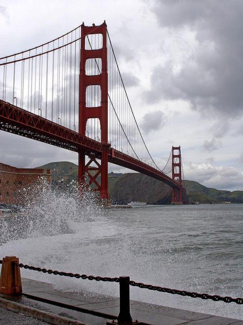 golden gate bridge suspension bridge steel cables