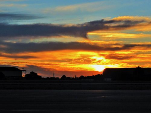 Golden-orange Sunset