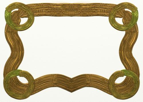 Golden Simple Frame