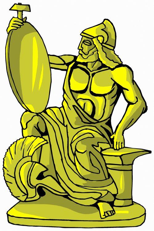 Golden Statue 10
