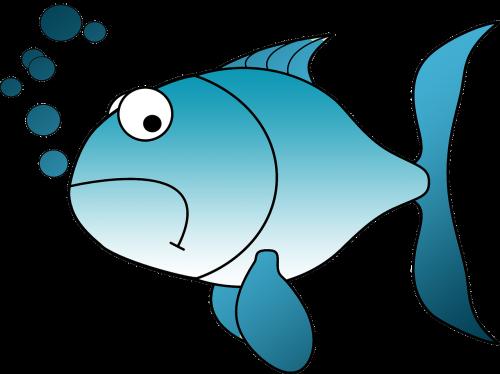 goldfish fish sad