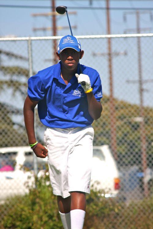 golf sport player
