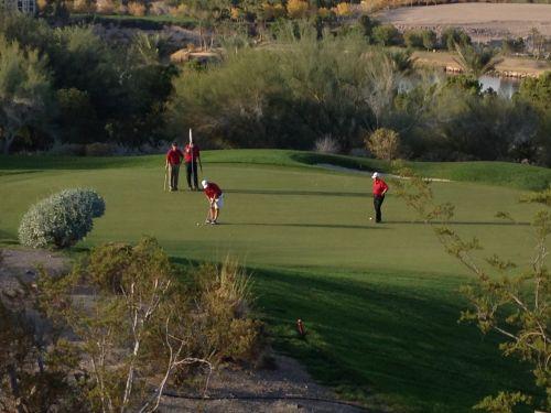 golf green golfing