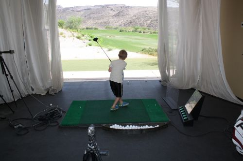 golf junior golf practise