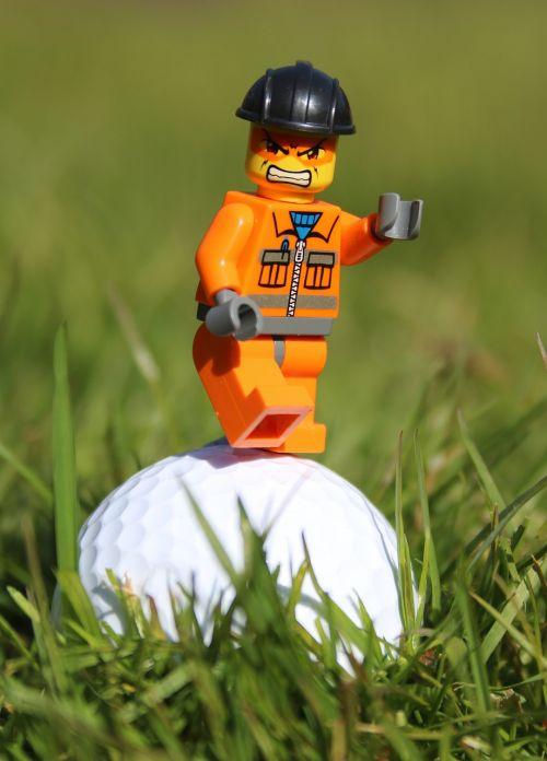 golf golf ball angry