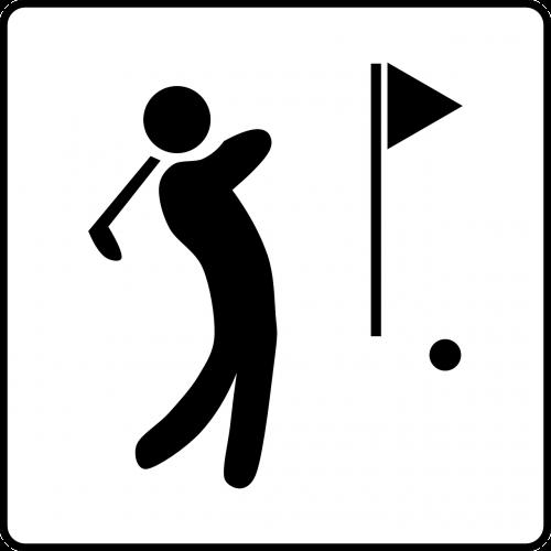 golf sports golfer