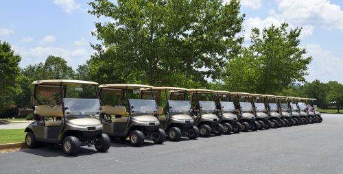 golf golf cart course