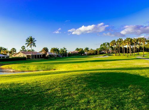 golf fairway course