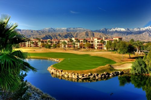 golf resort green