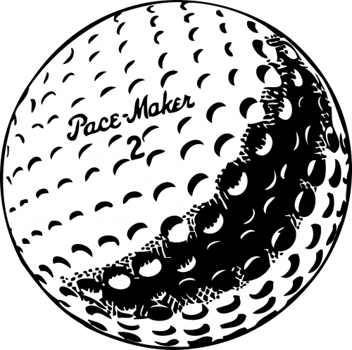 golf ball white