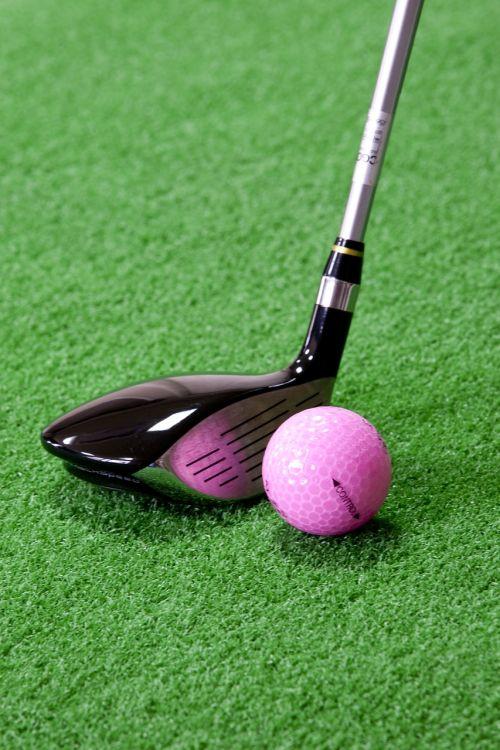 golf club ball