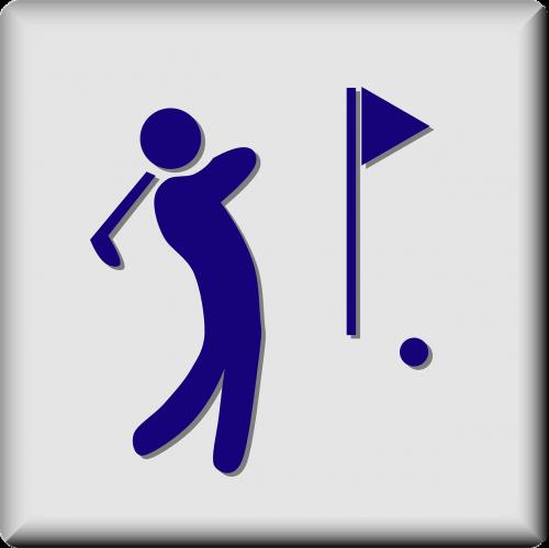 golf course golfing