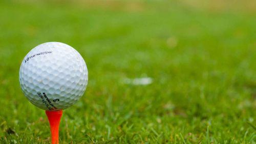 golf golfer tee