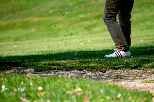 golf  golfers  tee