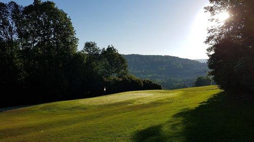 golf  morning  golfing