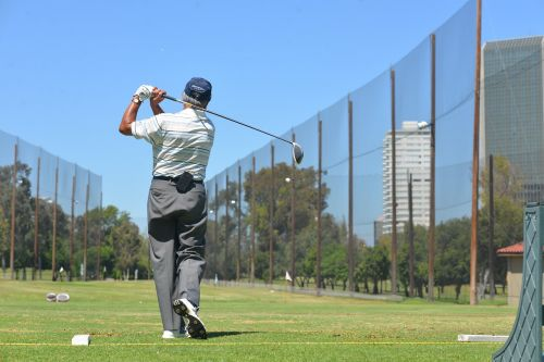 golf sport green
