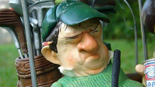 golf golfer figure