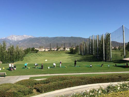 golf driving range course
