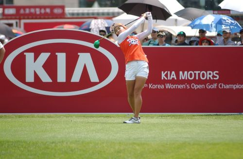 golf south korea women's open positive gene