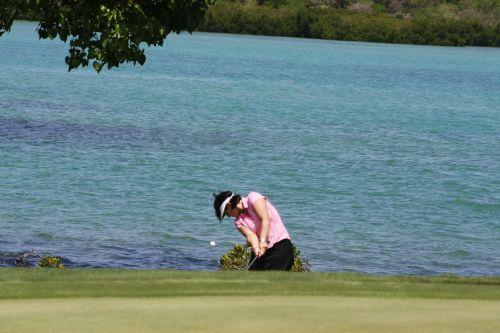 golf woman golfer