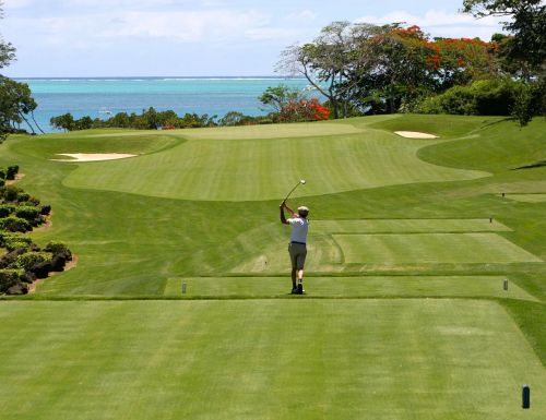 golf man tee