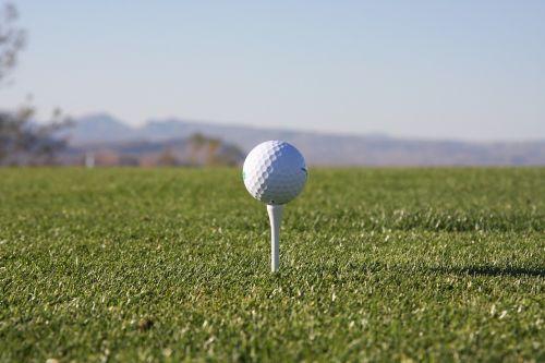 golf tee golfing