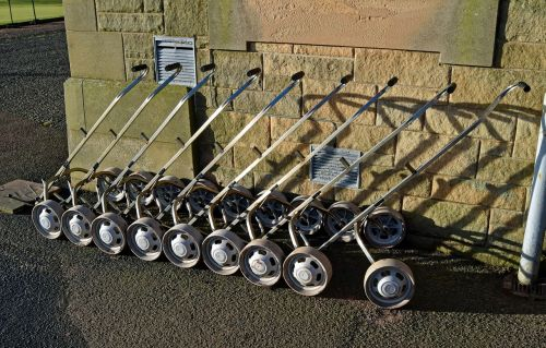 golf trolley hire carts