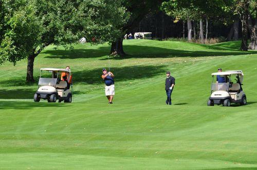 golf golf carts golfer