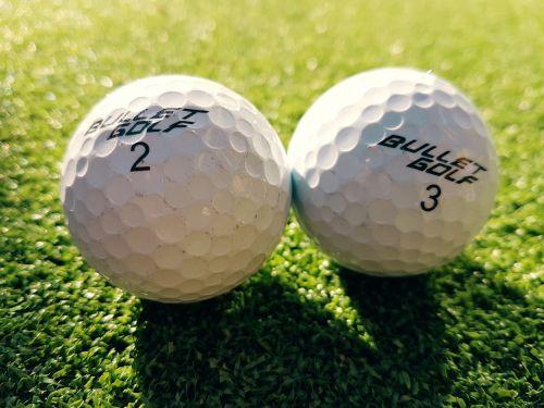 golf ball golfing sport