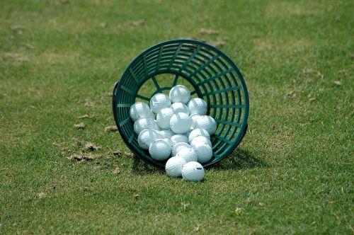 golf balls driving range basket