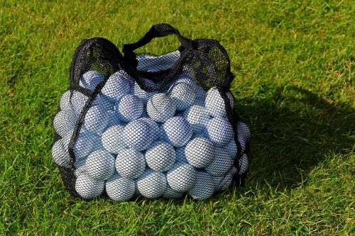 golf balls practice balls net