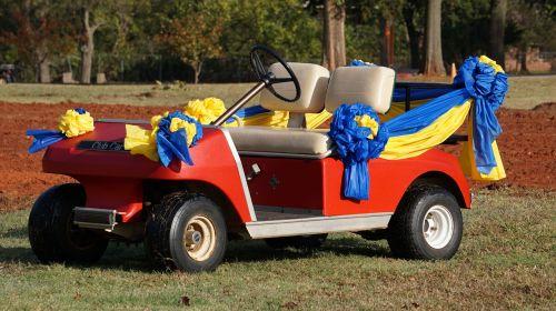 golf car vehicle wedding car