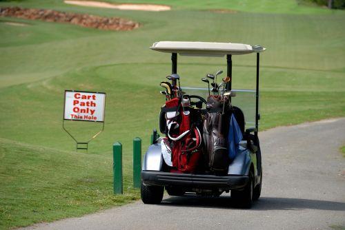 golf cart transportation golf bags