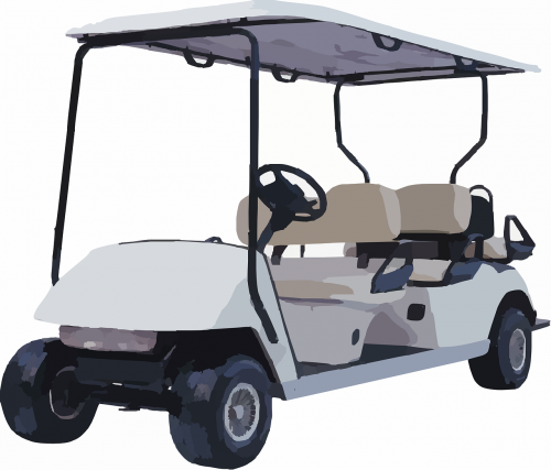 golf cart caddy electric car