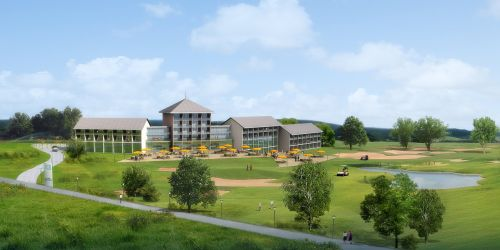 golf course rendering visualization