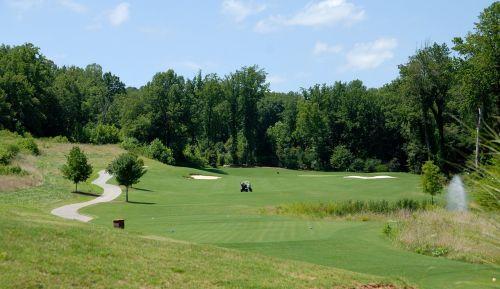 golf course golf sport