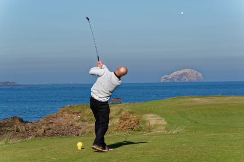 golf swing golfer swinging