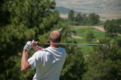 golfer golf sport