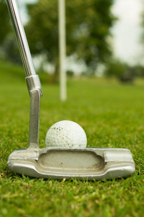 golfing green grass