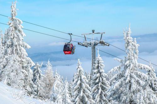 gondola ski resort trolley